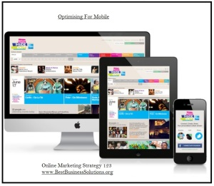 web design optimising for MOBILE